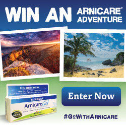 Win an Arnicare Adventure