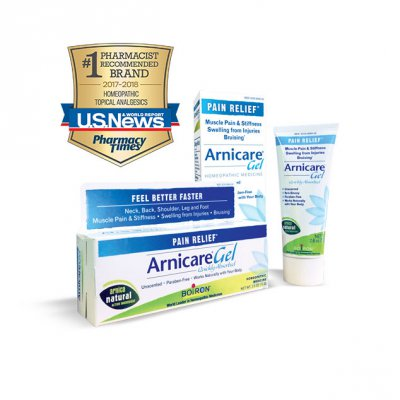 Arnicare Gel - winner #1 Pharmacist Recommended Brand 2017-2018 Homeopathic Topical Analgesics from US News and Pharmacy TImes