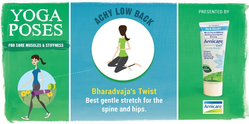 Yoga for Lower Back - Bharadvaja's Twist