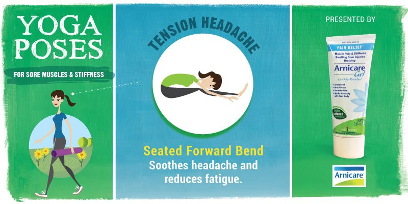 Yoga for Tension Headache - Seated Forward Bend