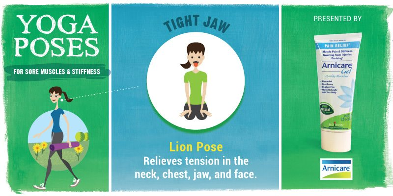 Yoga for Tight Jaw - Lion Pose