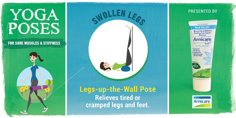 Yoga for Swollen Legs - Legs-Up-the-Wall Pose