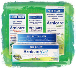 Arnicare Gel, Cream, Ointment and Bruise