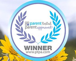 PTPA award over arnica flowers in the wild
