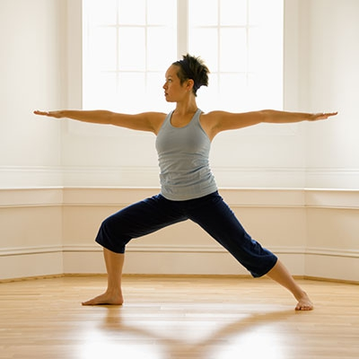 Warrior Pose can teach you how to act with wisdom, courage, and unwavering focus.