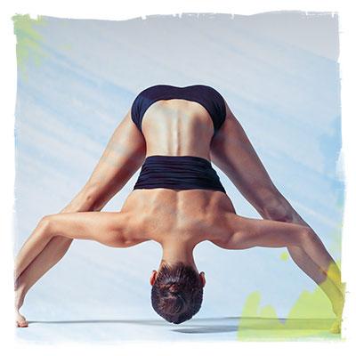 wide legged forward bend pose