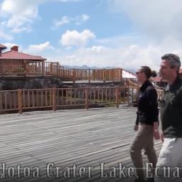 Video still of phtographers walking in Ecuador